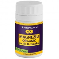 MAGNEZIU ORGANIC 30cps HERBAGETICA