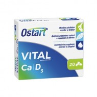 OSTART VITAL CA+D3 20CPR FITERMAN