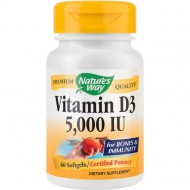 VITAMIN D3 5000UI 60CPS SECOM