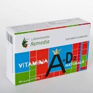 VITAMINA A+D2 NATURALA 30CPS REMEDIA
