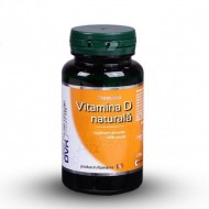 VITAMINA D NATURALA 60CPS DVR PHARM