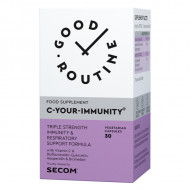 C YOUR IMMUNITY 30CPS SECOM GOOD ROUTINE - IMUNITATE, ANTIOXIDANT/Quercetin