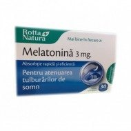 MELATONINA SUBLINGUALA 3MG 30CPR ROTTA NATURA