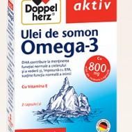 OMEGA 3-ULEI DE SOMON 800MG 30CPR DOPPEL HERZ
