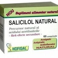 SALICILOL NATURAL(aspirina naturala) 60tb HOFIGAL