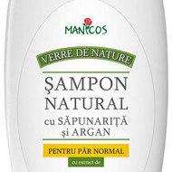 SAMPON NATURAL (cu sapunarita si argan) PAR NORMAL 300ml MANICOS
