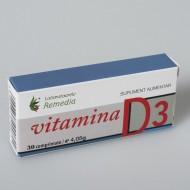 VITAMINA D3 30CPS REMEDIA