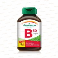 B COMPLEX 50MG 120CPR JAMIESON
