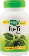 FO-TI 610MG 100 capsule SECOM (He Shou Wu sau Polygonum multiflorum)
