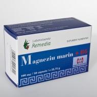MAGNEZIU MARIN 100MG+B6 50CPS REMEDIA