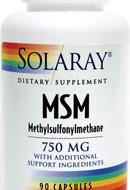 MSM 750mg 90cps SECOM