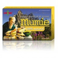 MUMIE EXTRACT PURIFICAT DE  RASINA 60CPR DAMAR GENERAL