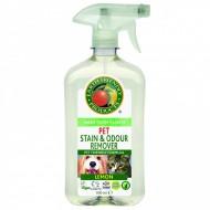 Solutie pentru indepartat petele si mirosurile de la animale 500ml Earth Friendly