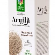 ARGILA  Flacon 60 cps 700 mg/capsula  NOU!!! SANTO RAPHAEL