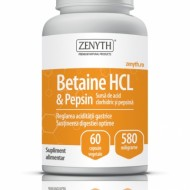 BETAINE HCL&PEPSIN 580MG 60CPS  ZENYTH