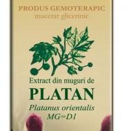 EXTRACT MUGURI DE PLATAN 50ML Platanus orientalis MG=D1 PLANTEXTRAKT