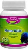 MEMO RELAX 120CPR INDIAN HERBAL