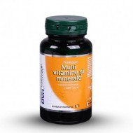 MULTIVITAMINE SI MINERALE 60CPS DVR PHARM