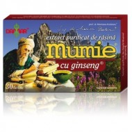 MUMIE EXTRACT RASINA+ GINSENG 30CPR DAMAR GENERAL