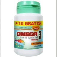 OMEGA 3 ULEI FICAT COD 1002MG 30CPS COSMOPHARM