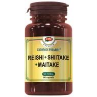 REISHI SHIITAKE MAITAKE 60CPS COSMOPHARM