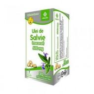 ULEI DE SALVIE 500MG 30CPS HELCOR