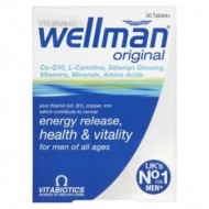 WELLMAN ORIGINAL 30TBL VITABIOTICS LTD