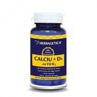 CALCIU+D3+VIT.K2 30CPS HERBAGETICA