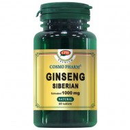GINSENG SIBERIAN 1000MG 30CPR  COSMOPHARM