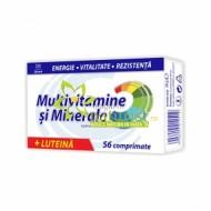 MULTIVITAMINE+MINERALE + LUTEINA 56CPR ZDROVIT