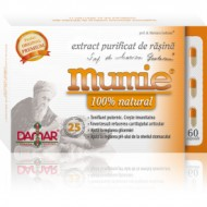 MUMIE EXTRACT PURIFICAT DE  RASINA 60CPS DAMAR GENERAL