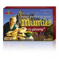MUMIE EXTRACT RASINA+ GINSENG 60CPR DAMAR GENERAL