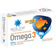 OMEGA 3 500MG 30CPR HELCOR