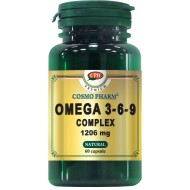 OMEGA 3-6-9 COMPLEX 1206MG 60CPS COSMOPHARM