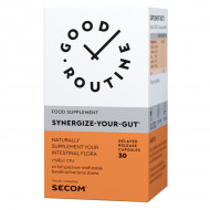 SYNERGIZE YOUR GUT 30CPS SECOM GOOD ROUTINE - PROBIOTIC 7 MILIARDE
