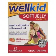 WELLKID SOFT JELLY CU CAPSUNE 30JELEURI VITABIOTICS LTD