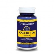 CALCIU+D3+VIT.K2 60CPS HERBAGETICA