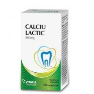 CALCIU LACTIC 50CPR VITALIA PHARMA