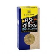 CONDIMENT-AMESTEC LA BBQ!-FISH & CHICKS ECO 55g SONNENTOR