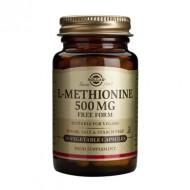 L-METHIONINE 500mg veg.30cps SOLGAR