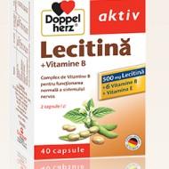 LECITINA +VITAMINE B+VITAMINA E 40CPR DOPPEL HERZ