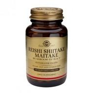 REISHI SHIITAKE MAITAKE MUSHROOM EXTRACT veg.50cps SOLGAR