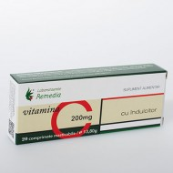 VITAMINA C 200MG 20CPR REMEDIA