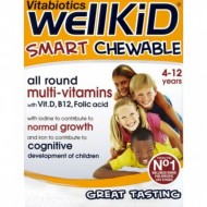 WELLKID MULTI-VITAMIN SMART CHEWABLE 30TBL VITABIOTICS LTD