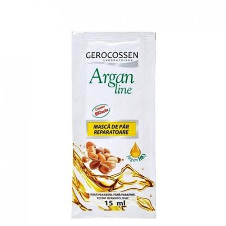 Argan line plic masca de par reparatoare, plic 15 ml, Gerocossen