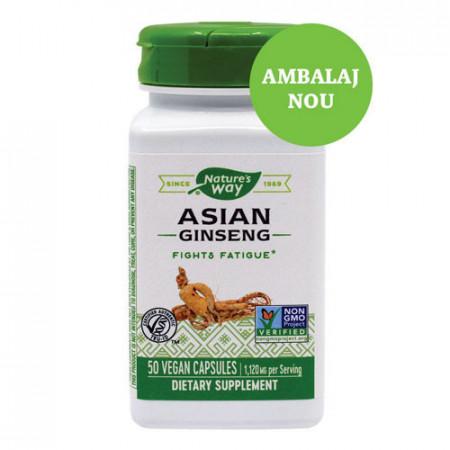 Asian Ginseng 560mg, 50cps, Nature's Way