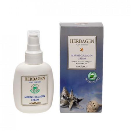 Crema colagen & avocado bio, 100g, Herbagen