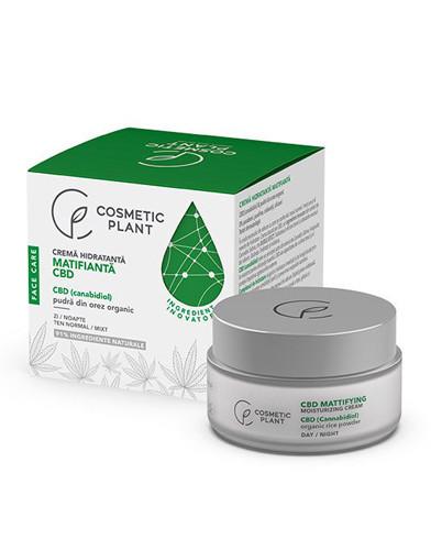 Crema hidratanta matifianta, 50ml, Cosmetic Plant