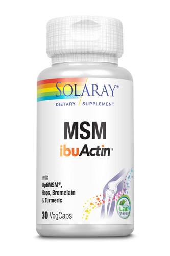 MSM ibuActin, 30cps, Solaray