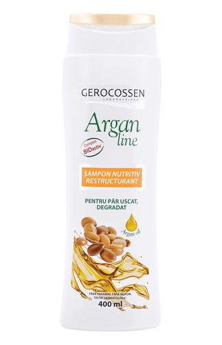 Argan line sampon nutritiv restructurant, 400 ml, Gerocossen